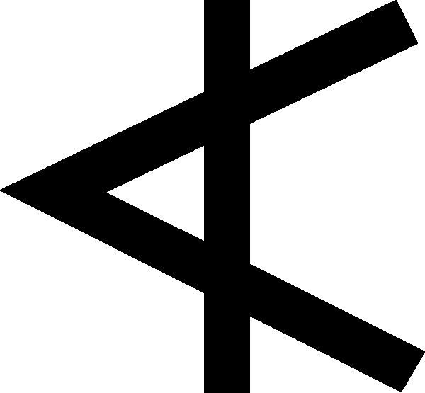 Phoenician Aleph clip art Free Vector / 4Vector.