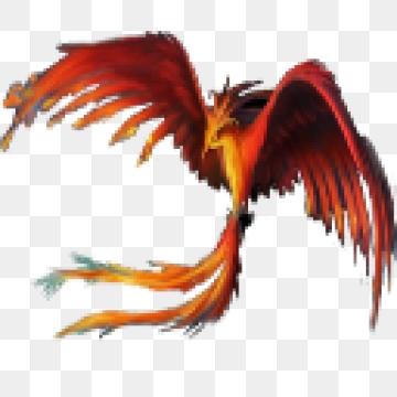 Phoenix Bird PNG Images.