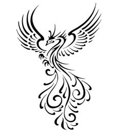 Phoenix bird clipart free.
