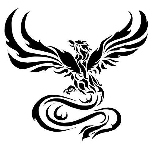 Clipart phoenix bird.