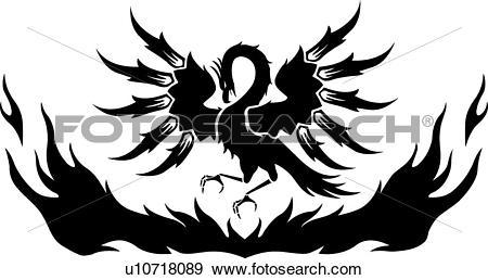 Phoenix Clip Art Vector Graphics. 1,753 phoenix EPS clipart vector.