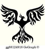 Phoenix Bird Clip Art.