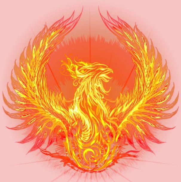 Phoenix Wings PNG, Clipart, Brilliant, Buckle, Clip, Flame.