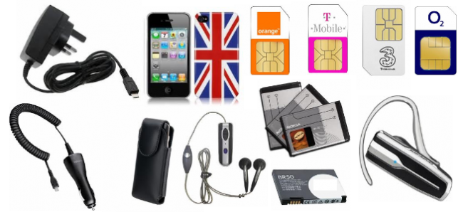 Mobile Phone Accessories Png Vector, Clipart, PSD.