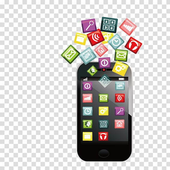 Smartphone Mobile app Application software Icon, Phone.