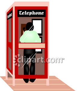 Standing In a Phone Booth.