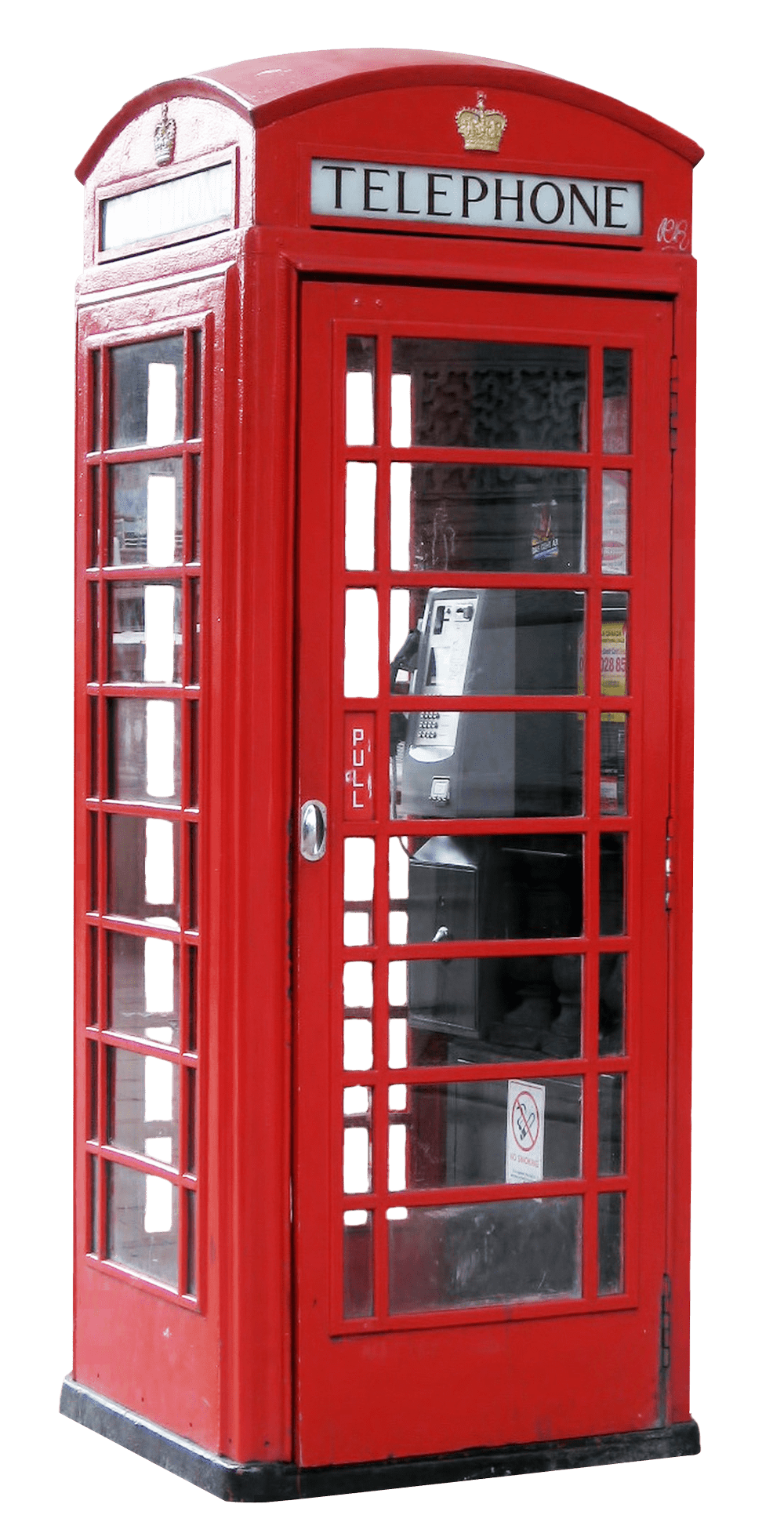 Phone Booth PNG Image.
