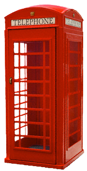 Telephone booth PNG images free download.