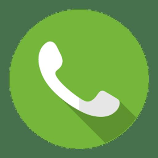Telephone call icon logo.