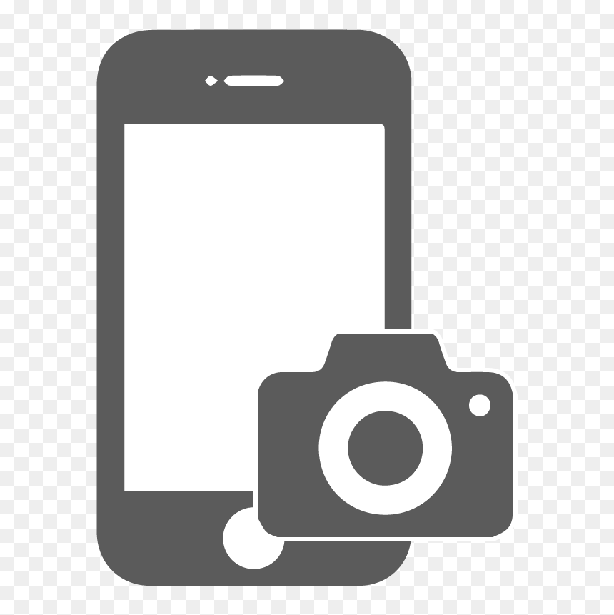 Mobile Phone Camera Logo, HD Png Download.