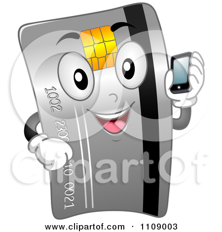 Calling card clipart.