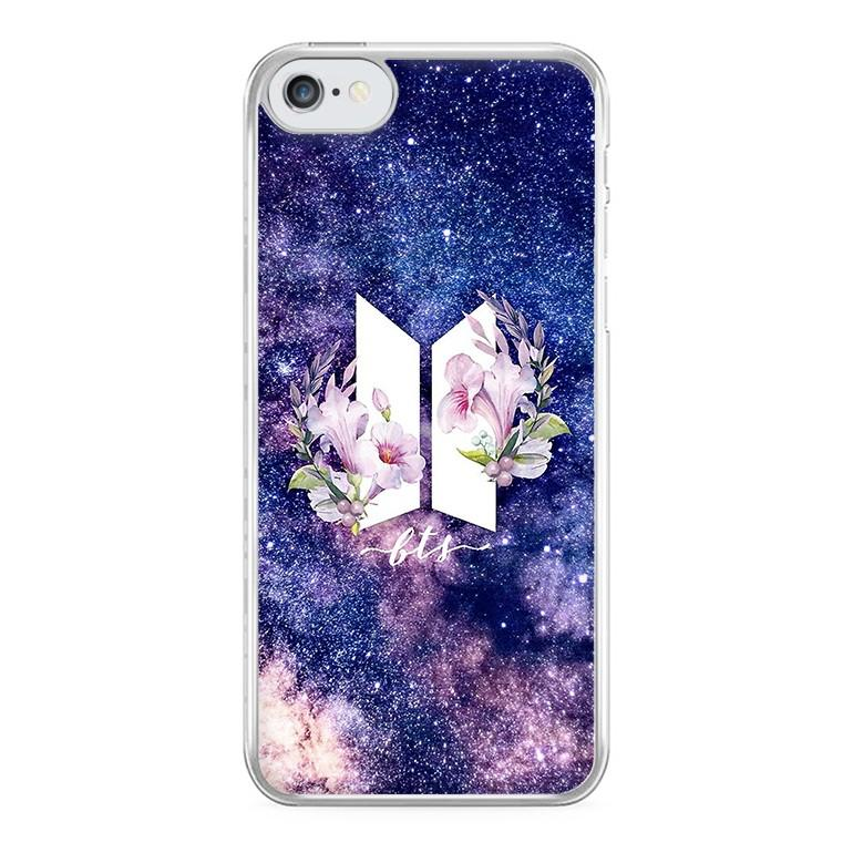 Galaxy Floral BTS Logo Phone Case.