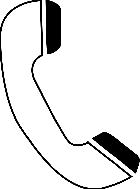 Cell Phone Clip Art Black And White.