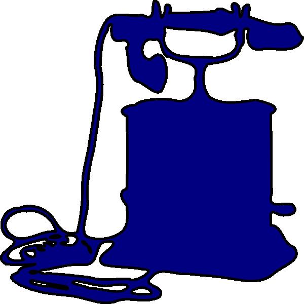 Telephone Outline Clip Art at Clker.com.