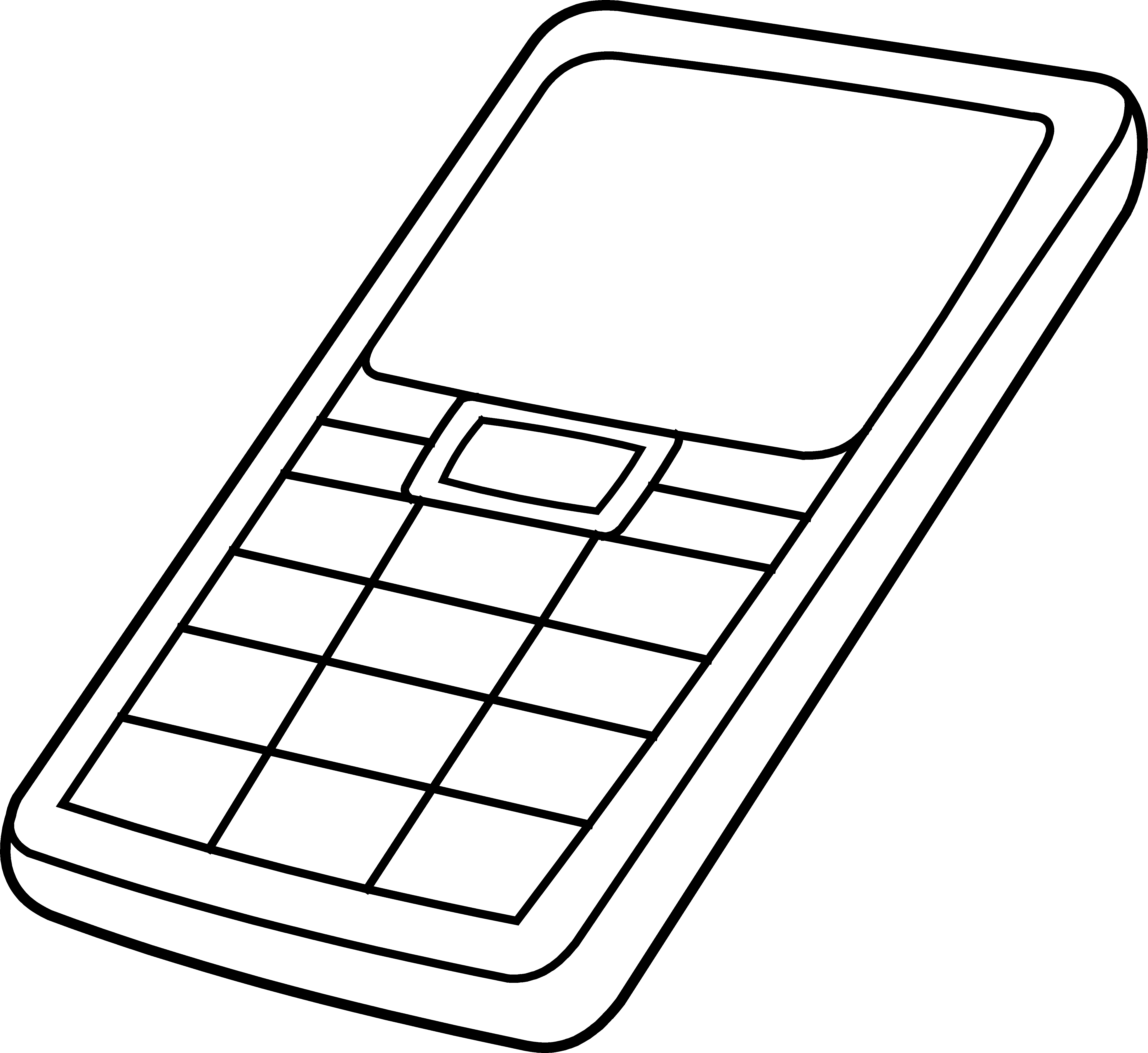 Mobile Phone Clipart.