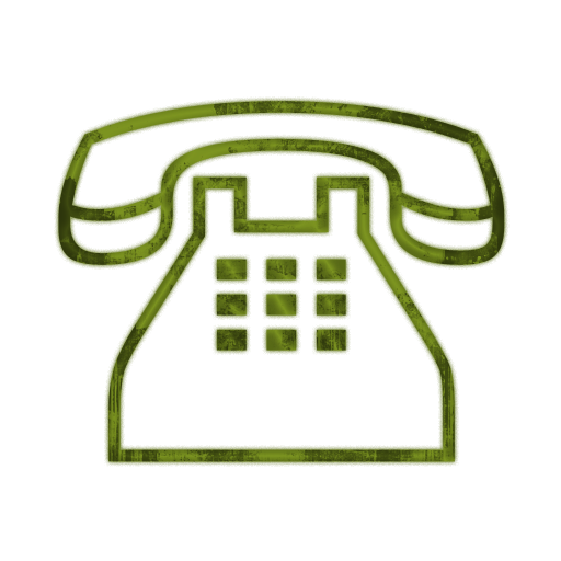 Telephone phone email icons clipart image #14645.