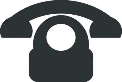 Phone Email FAX Icon Vector.