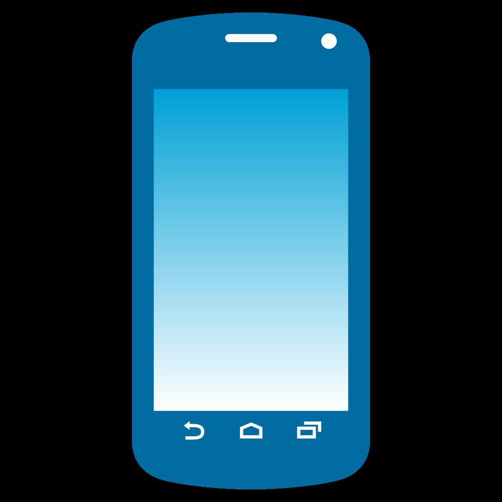 Emoji Phone transparent PNG.