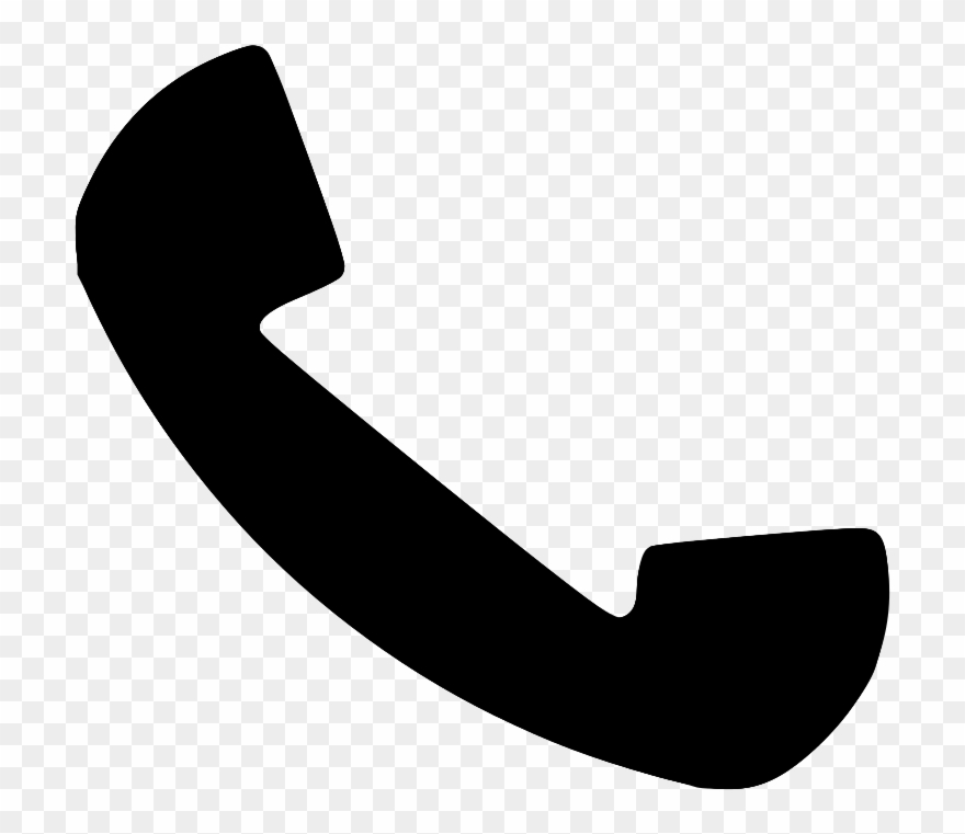 Phone Logo Png Black And White Clipart (#46644).
