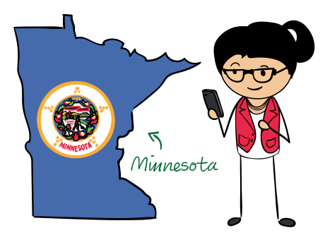 Minnesota (MN) Phone Numbers.