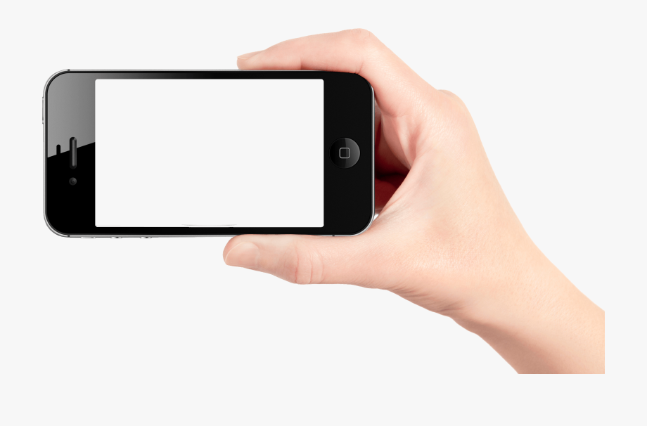Download Mobile Cell Phone In Hand Png Transparent.