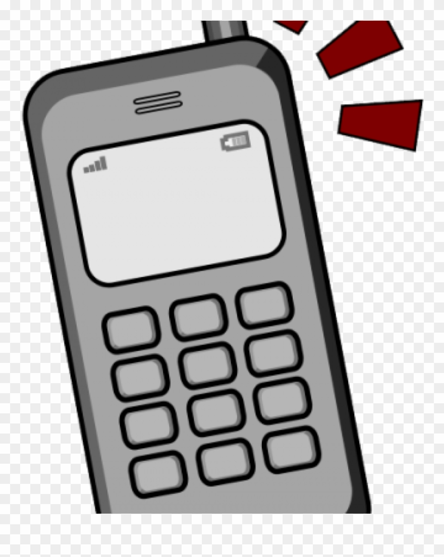 Cell Phones Clipart 19 Ringing Cell Phone Image Royalty.