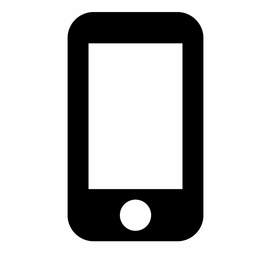 Iphone Smartphone Mobile Phone Device Icon Vector.