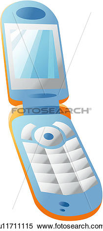 Clipart of logo, mobile, cell phone, cellular phone, phone, icon.