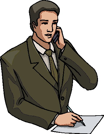 All Cliparts: Phoning Clipart.