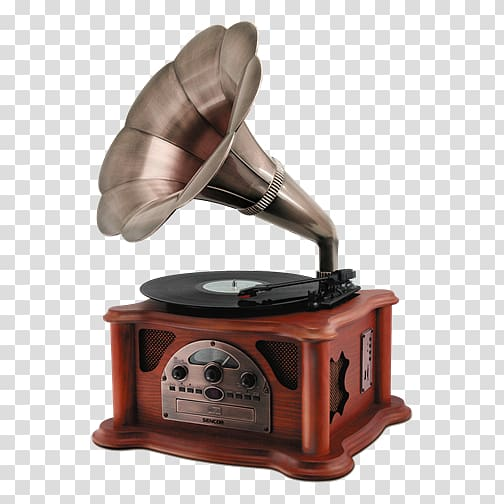 Phonograph record Music centre Sencor STT 018 TUBE Brown.