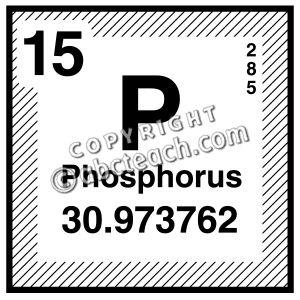 Phosphorus clipart.