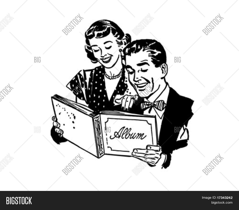 Couple With Photo Album.