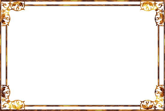 Transparent Frame Gold Background Png #28927.
