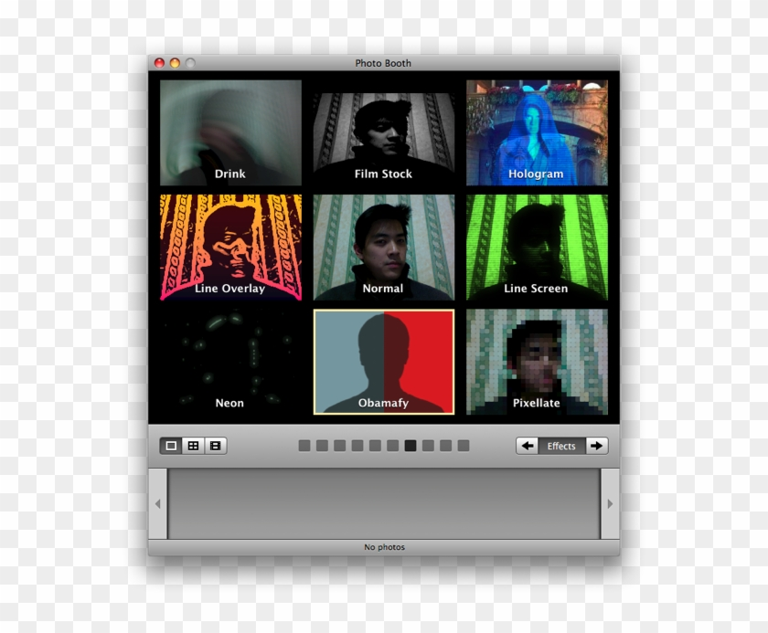 Photo Booth Effects Mac.