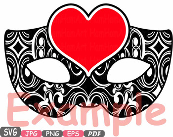 Props Valentine\'s Day Mask clipart Party Photo Booth heart Cupid Bow love.
