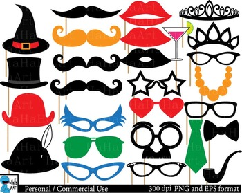 Party booth props ClipArt Personal, Commercial Use 135 PNG.