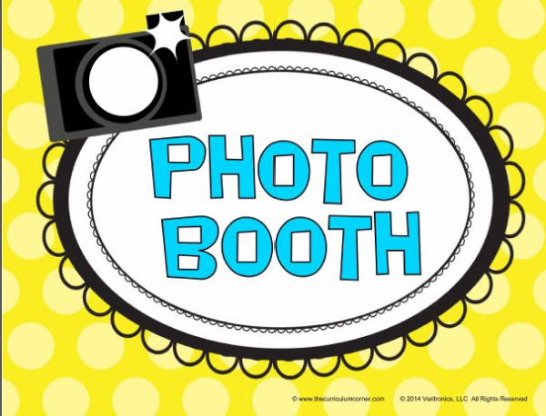 End of Year Photo Booth! K.