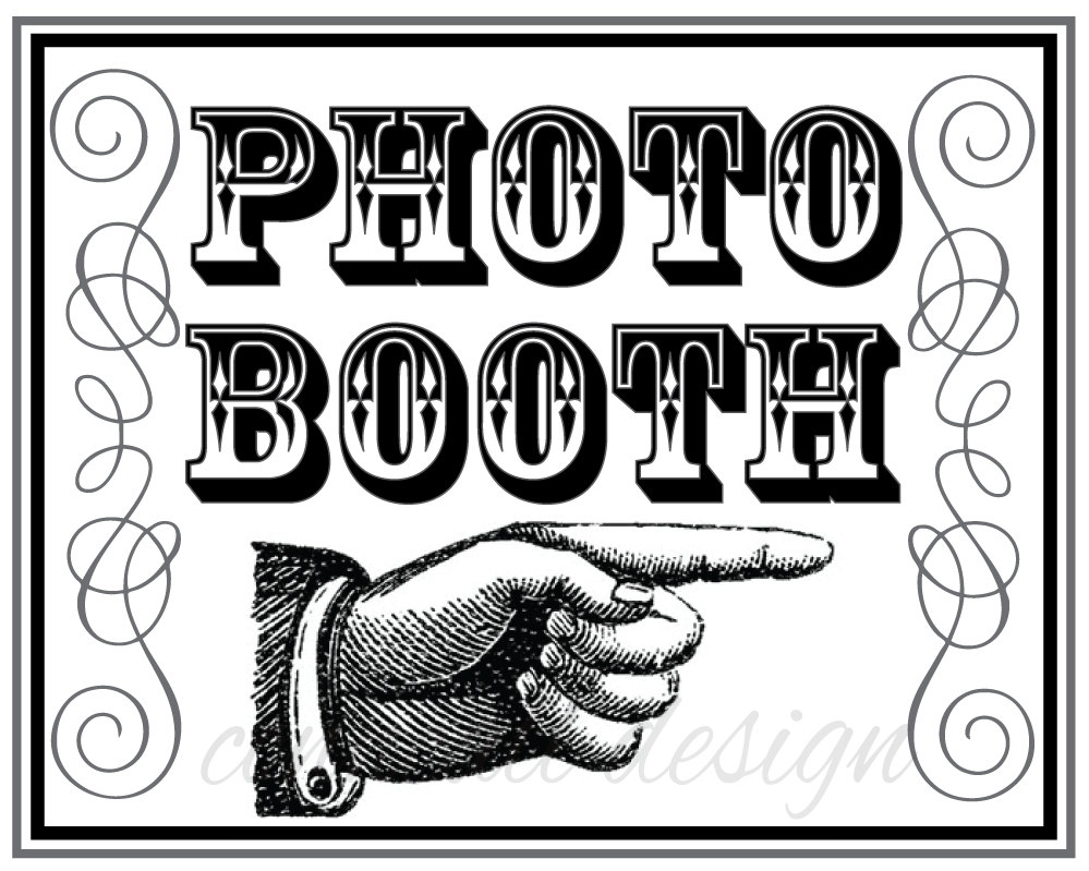 407 Photo Booth free clipart.