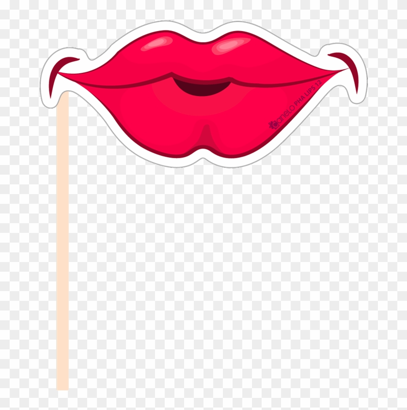 Booth Props Lips Png , Png Download.