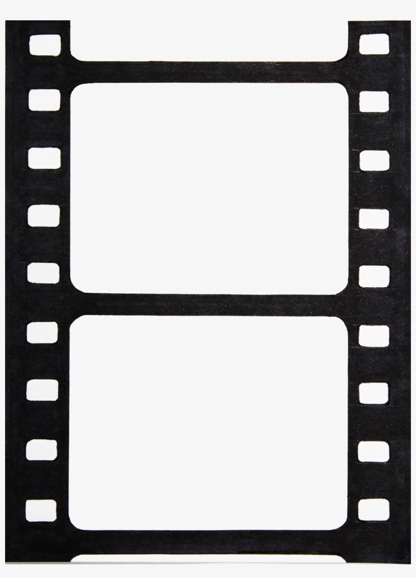 Printable Photo Booth Film Strip Template.