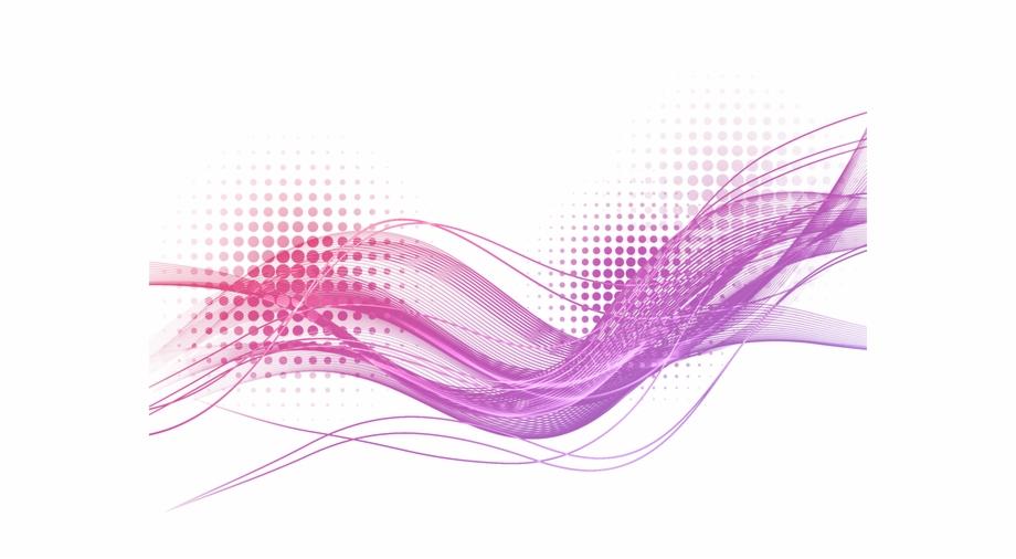 Efficacy Purple Light Lines Effect Wave Luminous Clipart.
