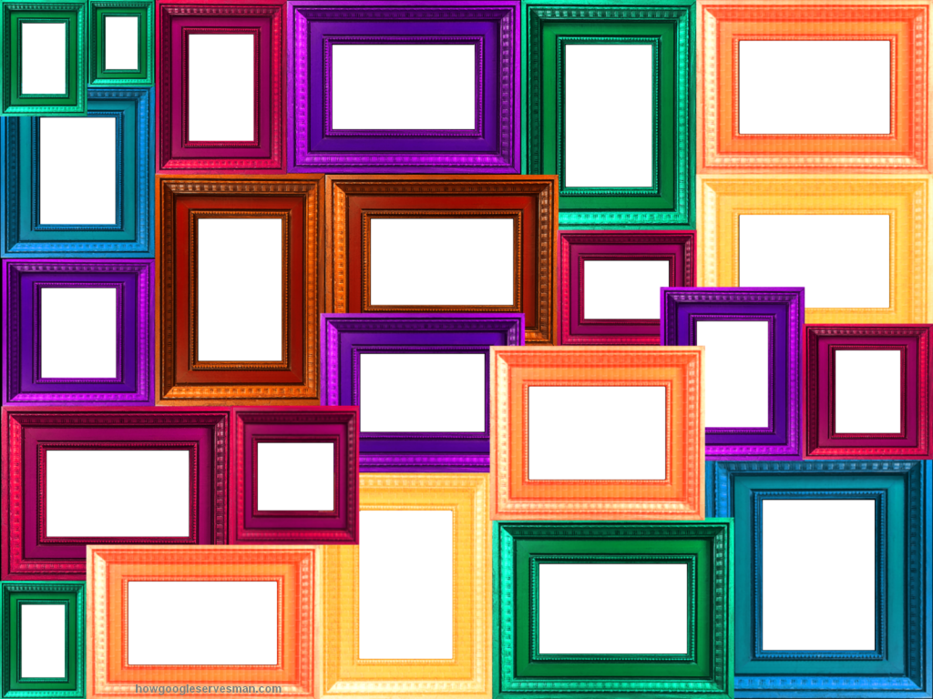 Collage Frame PNG Transparent Images.
