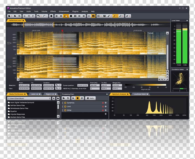 Audio editing software Computer Software Sound Editor.