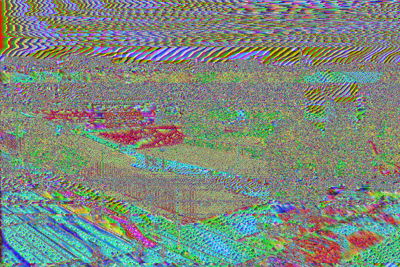 The Art of PNG Glitch.