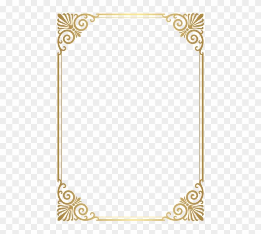 Free Png Download Border Frame Transparent Clipart.