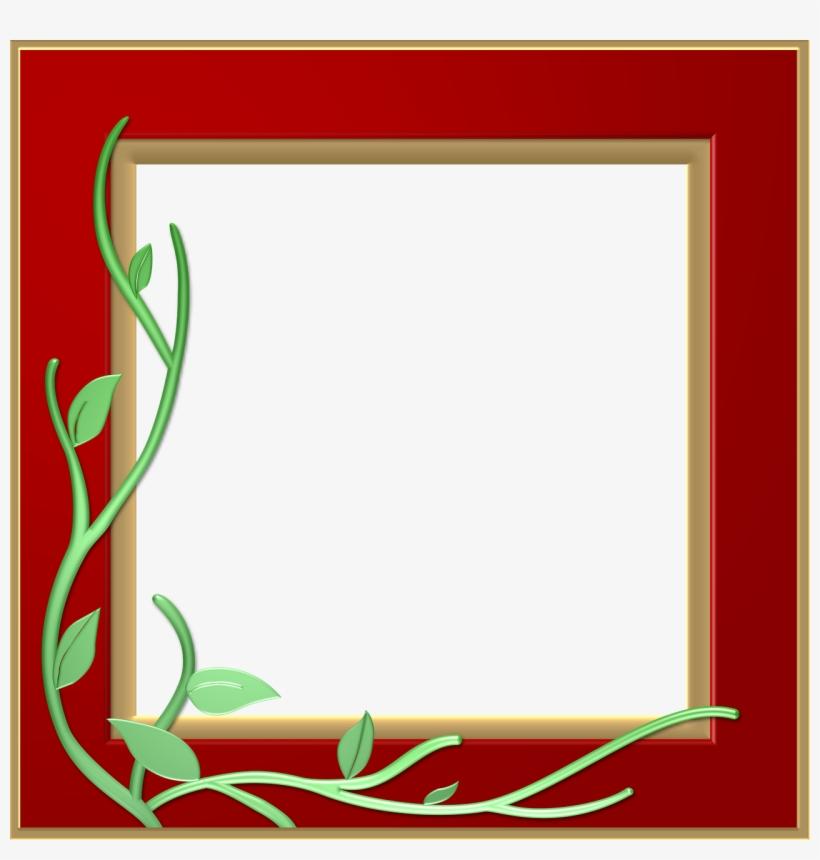 Red Border Frame Png Transparent.