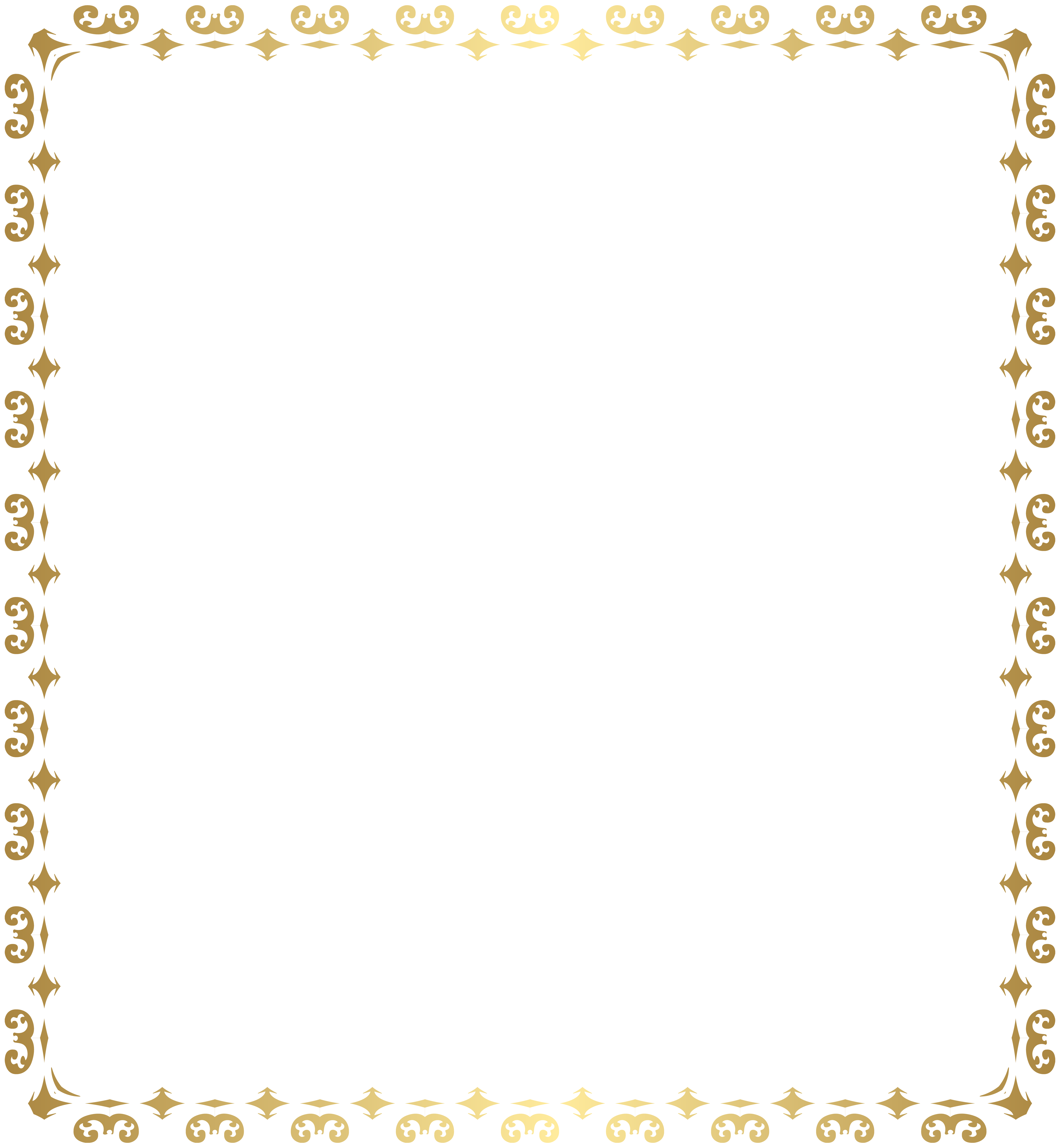 Frame Transparent Clipart.