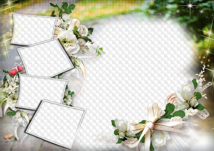 Wedding frame download.