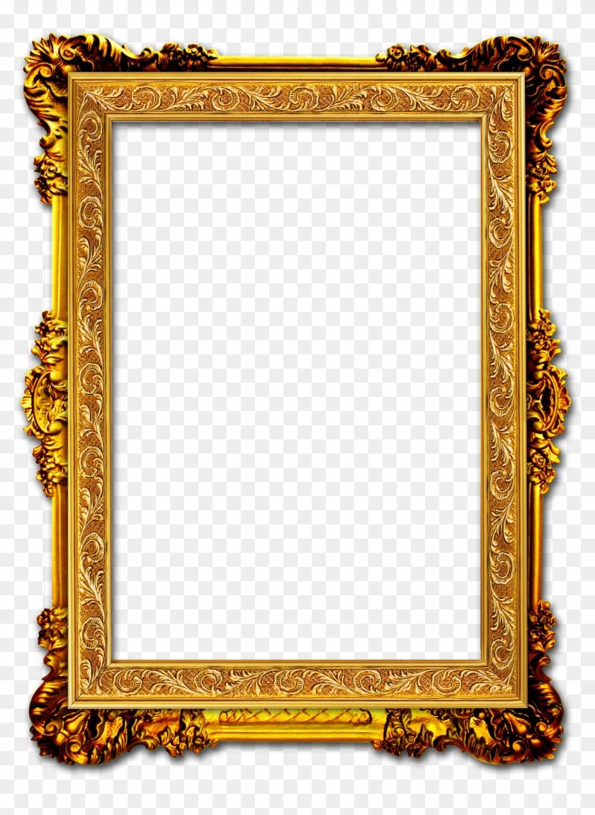 Gold Photo Frame.