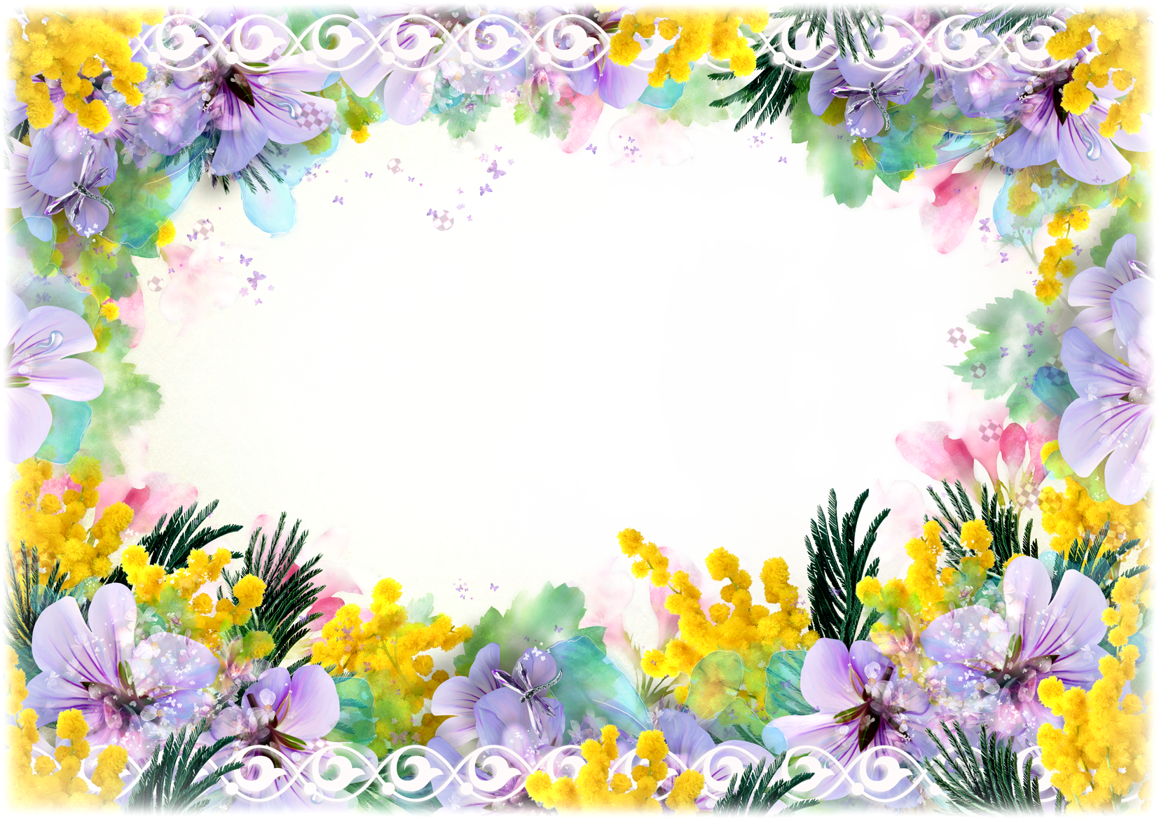 Love photo frame png transparent background.